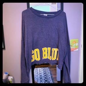 Michigan Cropped Hoodie shirt